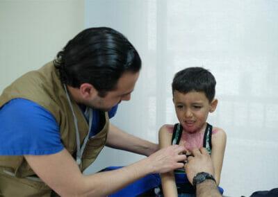 Dr. Moubayed burned child